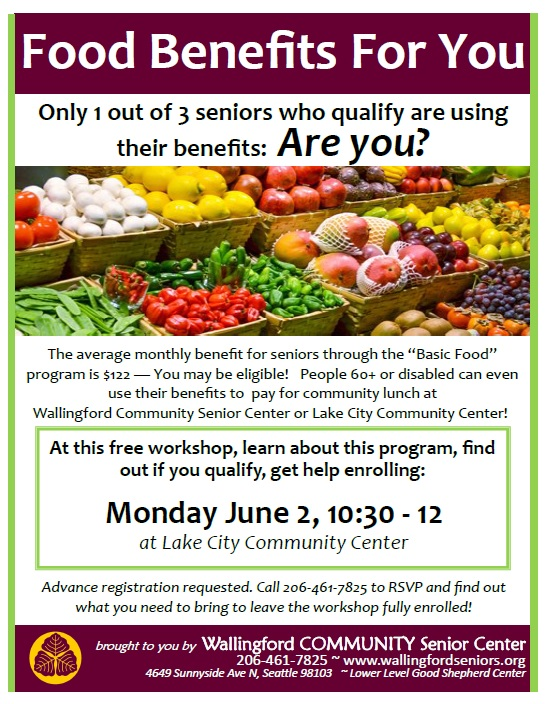 Food Benefits Workshop