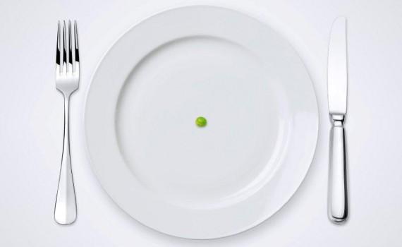 HungerEmptyPlatePea