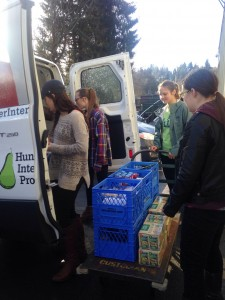 Hunger Intervention Program (HIP) starts a new Food Pantry Program at Nathan Hale High School
