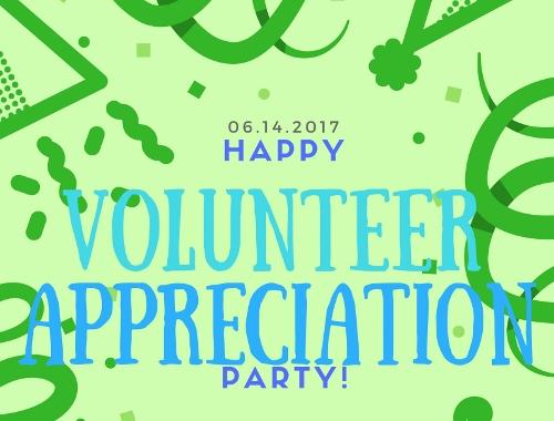 Save the Date: Volunteer Appreciation Party