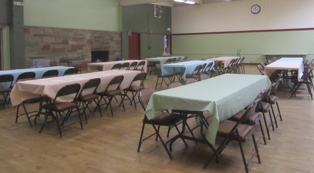 Senior Meals Setup