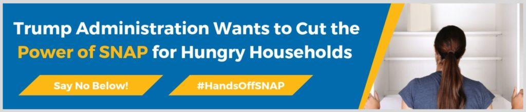 Yet another threat to SNAP that will make millions hungry